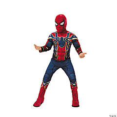 Boy's Deluxe Avengers: Infinity War™ Iron Spider-Man Costume - Small