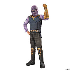 Boy's Deluxe Avengers: Infinity War™ Thanos Costume - Large