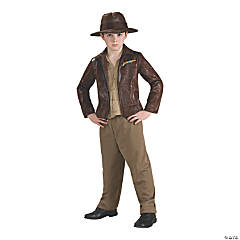 Boy's Deluxe Indiana Jones Costume - Medium