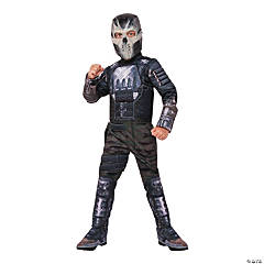 Boy's Deluxe Muscle Chest Captain America: Civil War™ Crossbones Costume - Medium