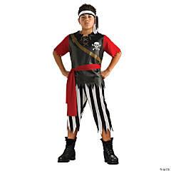Boy's Pirate King Costume
