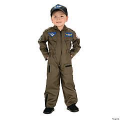 Boy's Air Force Fighter Pilot Costume - Medium