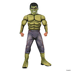 Boy's Avengers 2™ Deluxe Muscle Hulk Costume