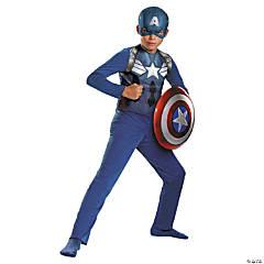 Boy's Captain America Halloween Costume - Large