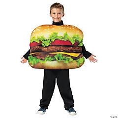 Boy's Cheeseburger Costume - Medium