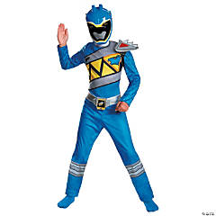 Boy's Classic Blue Ranger Dino Costume - Extra Small