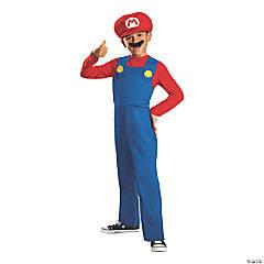 Boy's Classic Mario Costume - Large