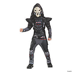 Boy's Classic Muscle Overwatch Reaper Costume - Large