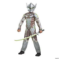 Boy's Classic Overwatch Genji Costume - Large