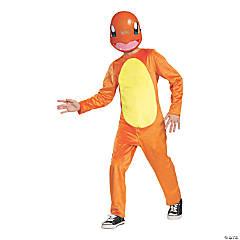 Boy's Classic Pokemon Charmander Costume - Medium