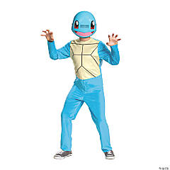 Boy's Classic Pokemon Squirtle Costume - Medium