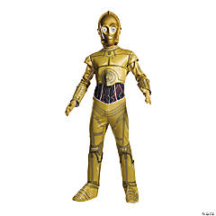 Boy's Classic Star Wars™ C-3PO Costume - Extra Small