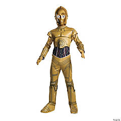 Boy's Classic Star Wars™ C-3PO Costume - Large