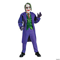 Boy's Deluxe Batman™ Joker Costume - Medium