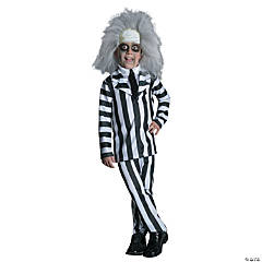 Boy's Deluxe Beetlejuice Costume - Large