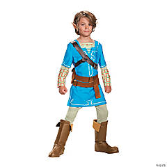 Boy's Deluxe Breath of the Wild Link Costume - Extra Large