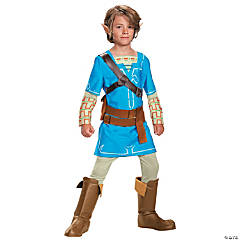 Boy's Deluxe Breath of the Wild Link Costume - Large