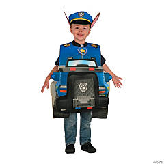 Boy's Deluxe Chase Paw Patrol Costume - Toddler