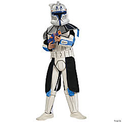 Boy's Deluxe Clone Trooper Rex Costume