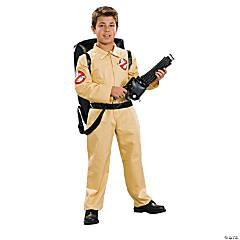 Boy's Deluxe Ghostbusters Costume - Medium