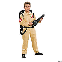 Boy's Deluxe Ghostbusters Costume - Small