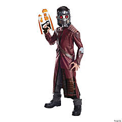 Boy's Deluxe Guardians of the Galaxy Star-Lord Costume - Large