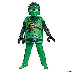 Boy's Deluxe Lego Ninja Lloyd Costume