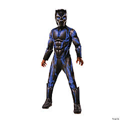 Boy's Deluxe Marvel Black Panther™ Battle Costume - Medium