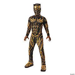 Boy's Deluxe Marvel Black Panther™ Killmonger Battle Costume - Medium
