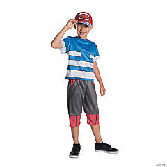Boy's Deluxe Pokemon™ Ash Costume - Large