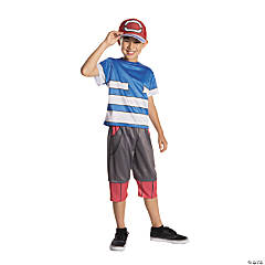 Boy's Deluxe Pokemon™ Ash Costume - Medium