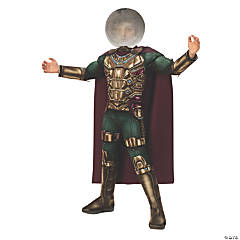 Boy's Deluxe Spider-Man: Far From Home™ Mysterio Costume - Small