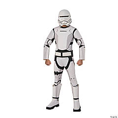 Boy's Deluxe Star Wars: The Force Awakens™ Flametrooper Costume - Small