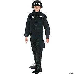 Boy's Deluxe SWAT Costume