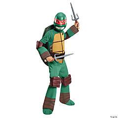 Boy's Deluxe Teenage Mutant Ninja Turtle Raphael Costume - Large