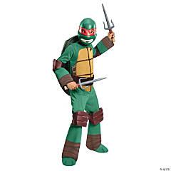 Boy's Deluxe Teenage Mutant Ninja Turtle Raphael Costume - Medium