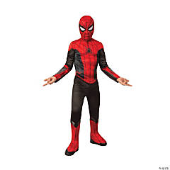 Boy's Economy Spider-Man: Far From Home™ Red & Black Costume - Large