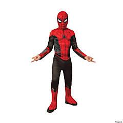 Boy's Economy Spider-Man: Far From Home™ Red & Black Costume - Medium