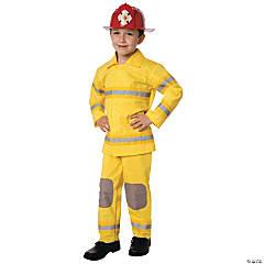 Boy's Fire Fighter Fireman Costume
