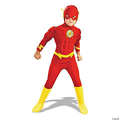 Boy's Flash Muscle Chest Costume - Large