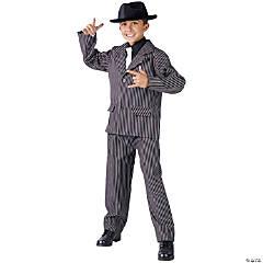 Boy's Gangster Costume - Medium
