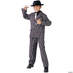 Boy's Gangster Costume - Small