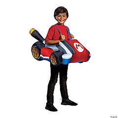 Boy's Inflatable Mario Kart Costume