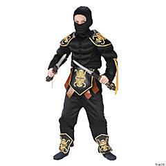 Boy's Muscle Ninja Warrior Costume - Large