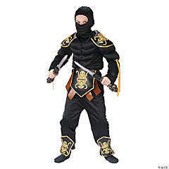 Boy's Muscle Ninja Warrior Costume - Small