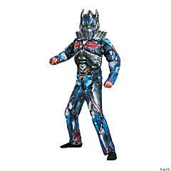 Boy's Muscle Optimus Prime Costume - Medium