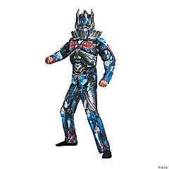 Boy's Muscle Optimus Prime Costume - Small