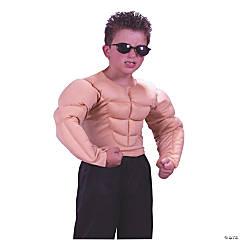 Boy's Muscle Shirt Costume