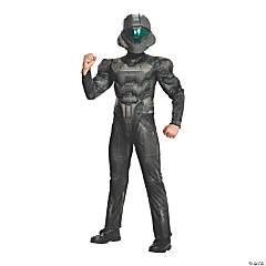 Boy's Muscle Spartan Buck Costume
