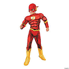 Boy's Photo Real Deluxe Muscle Chest Flash Costume